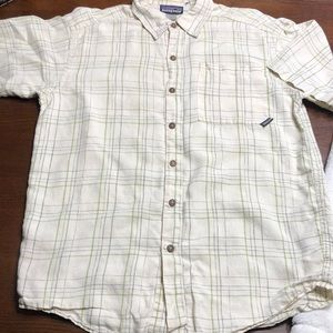Men's Patagonia casual button down shirt size -S-